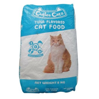 Harga CP Petfood Cuties Catz Food TUNA - 8kg