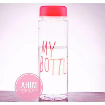 Harga My Bottle 545ml CLEAR/Transparan Botol Minum ECO Friendly Infused Water Tritan BPA Free - PINK