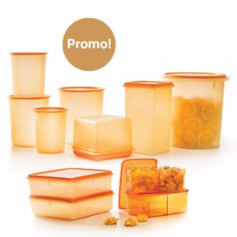 Harga Tupperware Golden Mega Set