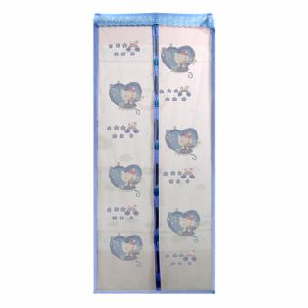 Generic - Tirai hello kitty - blue
