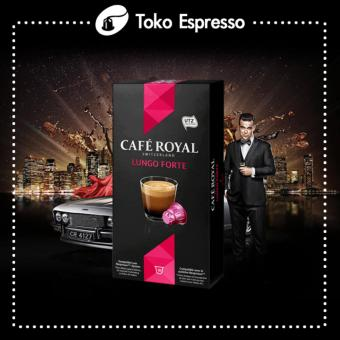 Harga Nespresso - Lungo Forte Cafe Royal Made in Switzerland