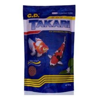 Harga CP Petfood Takari Fish Food 2mm Mix 2pcs - 250gr