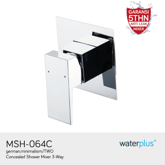 Harga waterplus+ - Concealed Shower Mixer 3-Way - MSH-064C