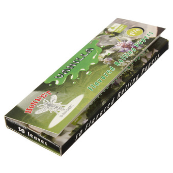 Harga Cigarette Tobacco Rolling Papers 50 Leaves Vanilla- intl