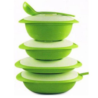 Harga Tupperware Blossom Collection - Hijau