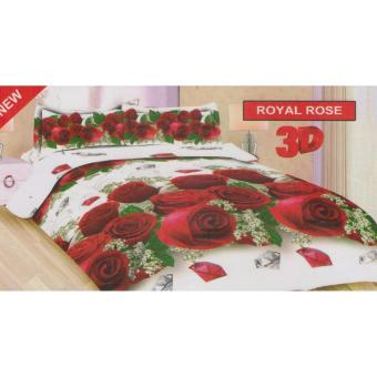 Harga Sprei Bonita Royal rose