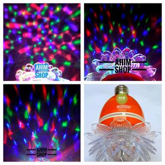 Harga SHIGEN® Lampu Hias LED 5W BEST QUALITY - Disco Auto Rotating Full Color SG-231 (1pcs) - Orange