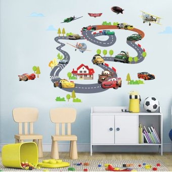 Harga Home Decor Wallsticker Sticker Dinding XY1160 - Colourful