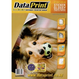 Harga DataPrint DP SGP 135 Sticker Glossy Paper A4 - 135 Gsm
