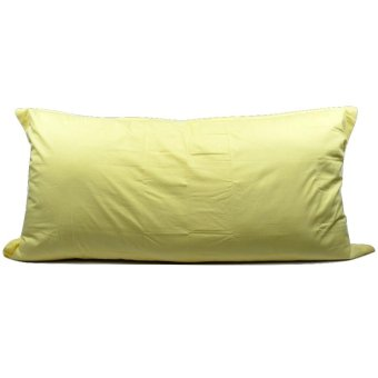 Harga Sleep Buddy - Sarung Bantal 50x100 Cm Yellow