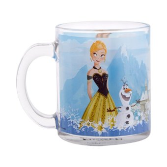 Harga Disney Frozen Anna Glass Mug 350 ml Biru