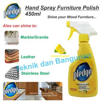 Harga Pledge Furniture Polish Hand Spray 450ml