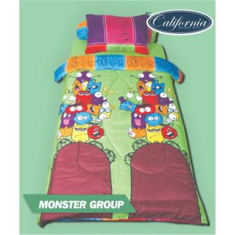 Harga California Monster Group Sprei Set 120x200x20