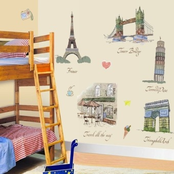 Harga Home Decor Wallsticker Sticker Dinding AM9031 - Colorful