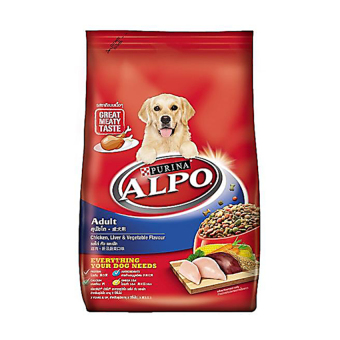Harga Alpo Adult Chicken, Liver and Vegetable Flavor - 10Kg