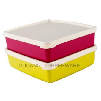 Harga Tupperware Square Away 2 pcs - Buddy