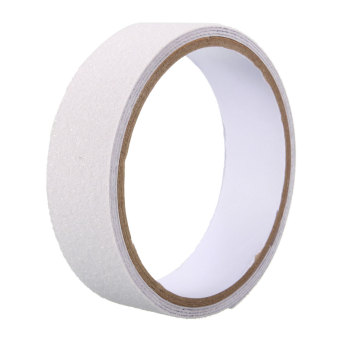 Harga Roll Safety Non Skid Tape Anti Slip Tape Sticker Grip Safe Grit Bathroom Shower white- intl