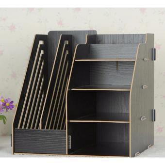 DIY Stationery Rack / Rak Buku Kayu / Rak Buku Portable - Random