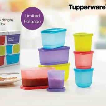 Harga Tupperware Petite Fiesta - 8pcs - Multicolour