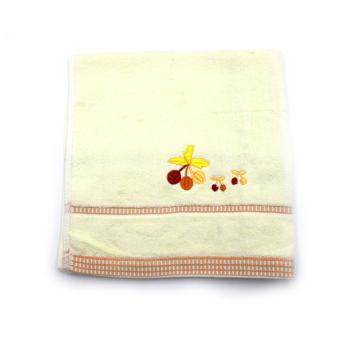 Alldaysmart Handuk Mandi Kecil 1609-418 - Kuning - ukuran 72x33