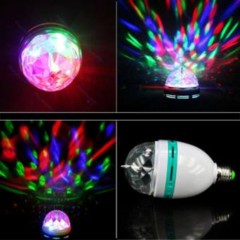 Harga Lampu proyektor led full color rotating - Lampu disco