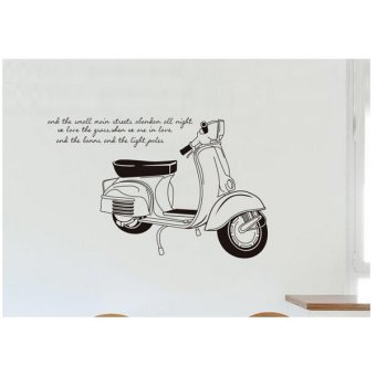 Harga Home Decor Wallsticker Stiker Dinding JM7161 - Colorful
