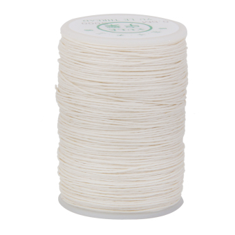 Harga Leather Craft Handwork Sewing Round Waxed Wax String Thread Cord 0.6mm White