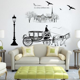 Harga Wall Sticker Stiker Dinding JM7307 - Multicolor