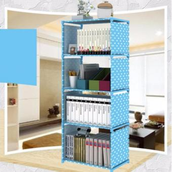 Harga Rak Buku Single Bookshelf Book Case Self Cabinet Baju Show Case