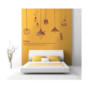Harga Home Decor Wallsticker Sticker Dinding JM7176 - Colorful