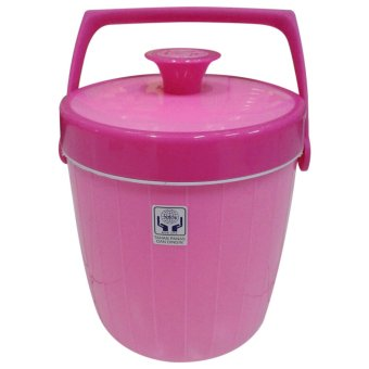 Harga Maspion Ice/Rice Bucket Usa 6 Liter - Pink