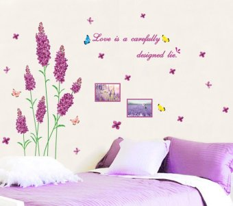 Harga Home Decor Wallsticker Stiker Dinding AM9069 - Colorful