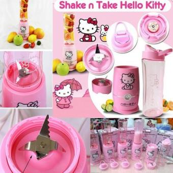 Harga Shake N Take Hello Kitty / Travel Juicer Blender Hk Juice [ 2 Cups ]