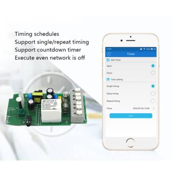 Harga Sonoff TH16A Temperature&Humidity Monitoring WiFi Smart Automation Switch APP WORK WITH ALEXA - intl