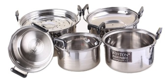 Harga Weston Dutch Oven Steamer Set 5 Sizes
