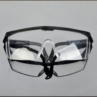 Jetting Buy Baru Jelas Lens Mata Keselamatan Perlindungan Kacamata Debu Melukis Dari Laboratorium Biru