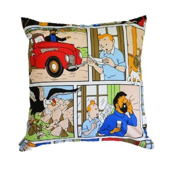 Harga Anne Leissly Tintin Cushion Cover 40x40-Multicolour