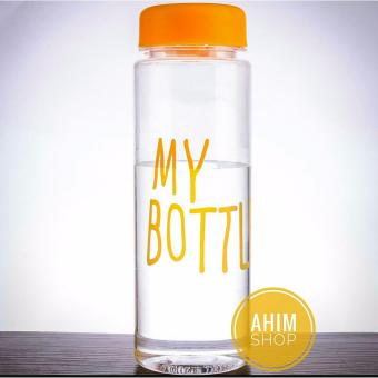 Harga My Bottle 545ml CLEAR/Transparan Botol Minum ECO Friendly Infused Water Tritan BPA Free - YELLOW