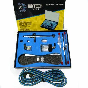 Harga MC Tech Spray Gun Air Brush 134K kit