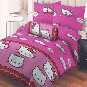 Sprei Monalisa Warungsprei com Source · Harga Monalisa Bedcover Set Sprei Pink Kitty 180x200 Rumah Tangga Source Harga Lady