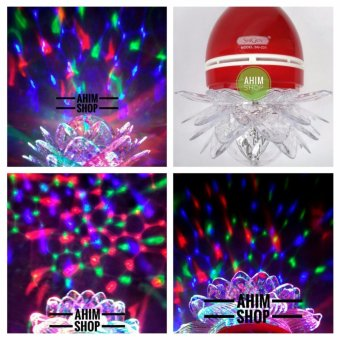 Harga SHIGEN® Lampu Hias LED 5W BEST QUALITY - Disco Auto Rotating Full Color SG-231 (1pcs) - Red