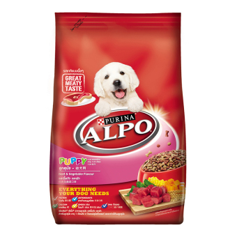 Harga ALPO Puppy Beef Vegetable Flavor (8Kg)