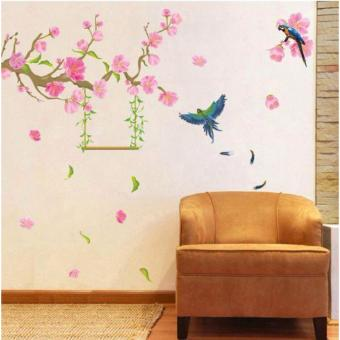 Harga Home Decor Wallsticker Sticker Dinding XL8187 - Colorful