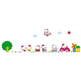 Harga Home Decor Wallsticker Stiker Dinding AY9091 - Colorful