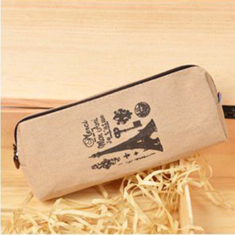Harga Retro Canvas Pen Case