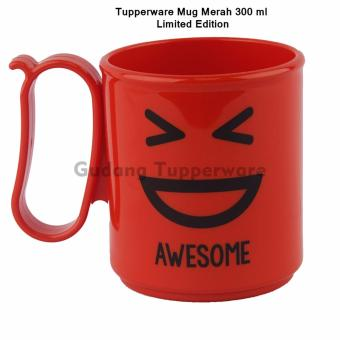 Harga Tupperware Mug Merah - Awesome