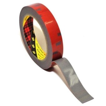 Harga 3M AFT Acrylic Foam Tape 5666 20 mm x 4.5 m - Double Tape Mobil - 1 Roll - Merah