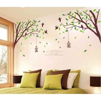 Harga Wall sticker Stiker Dinding AY205 - Multicolor