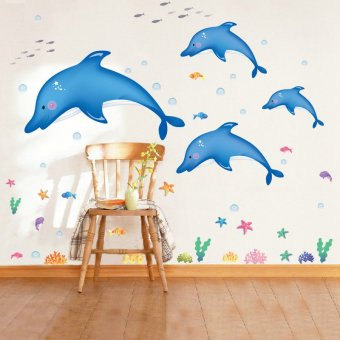 Harga Home Decor Wallsticker Stiker Dinding AY9168 - Colorful