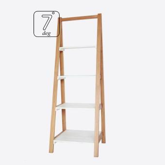 rak kayu / rak buku kayu jati